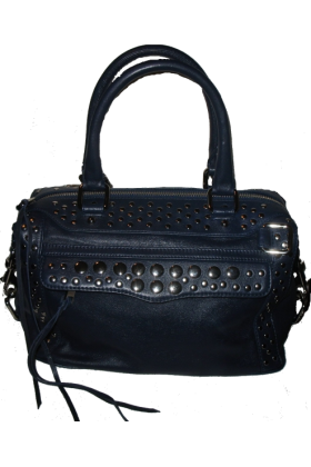 Rebecca Minkoff Bag -  Rebecca Minkoff Morning After Mini Stud Bag Sapphire