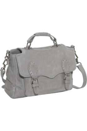 Rebecca Minkoff  -  Rebecca Minkoff Small Schoolboy Shoulder Bag Pale Grey