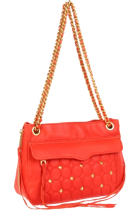 Rebecca Minkoff バッグ -  Rebecca Minkoff Swing Shoulder Bag Persimmon