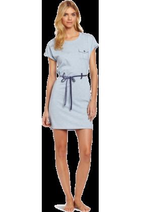 Tommy Hilfiger Dresses -  Tommy Hilfiger Women's Pocket Tee Sleep Dress Sky Blue Heather