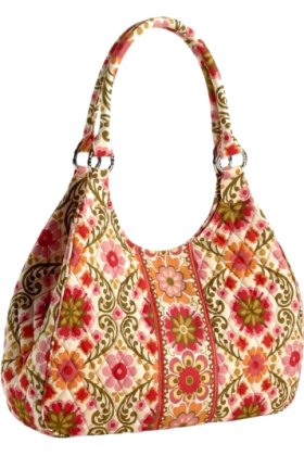 Vera Bradley Torbe -  Vera Bradley Large Hobo Folkloric