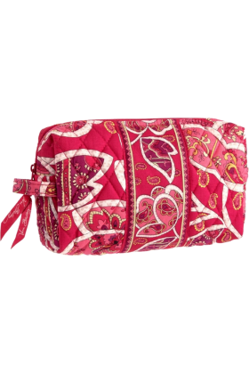 Vera Bradley Hand bag -  Vera Bradley Medium Cosmetic Rosy Posies