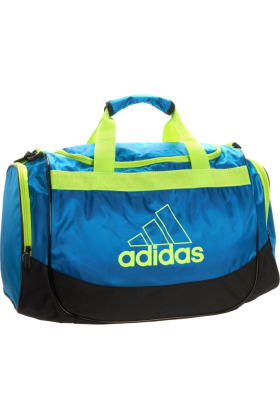 adidas Bag -  adidas Defender Small Duffel Sharp Blue/Slime
