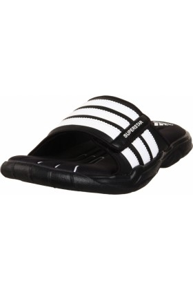 adidas Sandals -  adidas Men's SS 2G Slide 2M Sandal Black/Running White/Running White