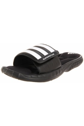adidas Sandals -  adidas Men's Superstar 3G Slide Sandal Black/White/White