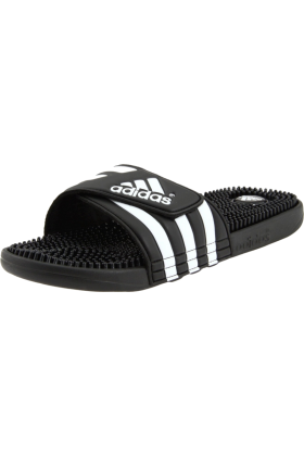 adidas Sandals -  adidas Originals Men's Adissage Sandal Black/Black/White