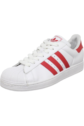 Amazon.com Sneakers -  adidas Originals Men's Superstar ll Sneaker White/Scarlet/White
