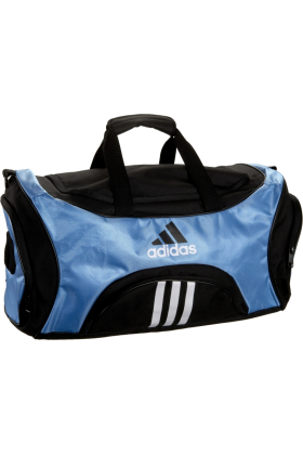 adidas Bag -  adidas Striker Medium Duffel Bag Collegiate Light Blue/Black