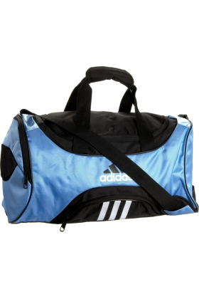 adidas バッグ -  adidas Striker Small Duffel Collegiate Light Blue/Black