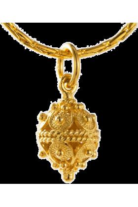 Dubrovacki botuni Necklaces -  ドブロブニクのボタン ペンダントヘッド(14金)小