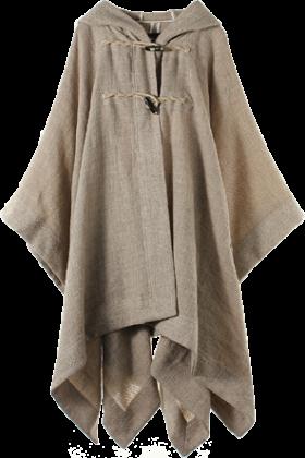 martinique(マルティニーク) Jacket - coats -  マルティニーク[martinique] 【再入荷】Faliero Sarti 素材マントコートベージュ