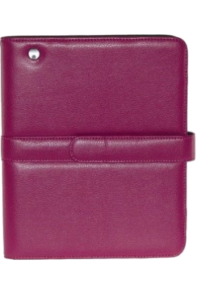Buxton Accessories -  iPad Easel Folio Cover Color: Pink