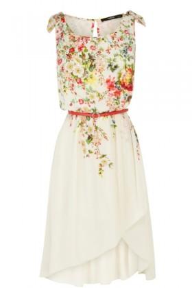 Oasis Dresses -  Garden Ditsy Midi Dress