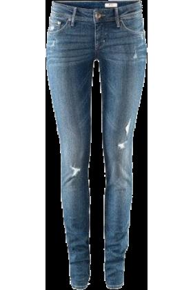 Lieke Otter Jeans - slightly ripped jeans Blue - trendMe.net