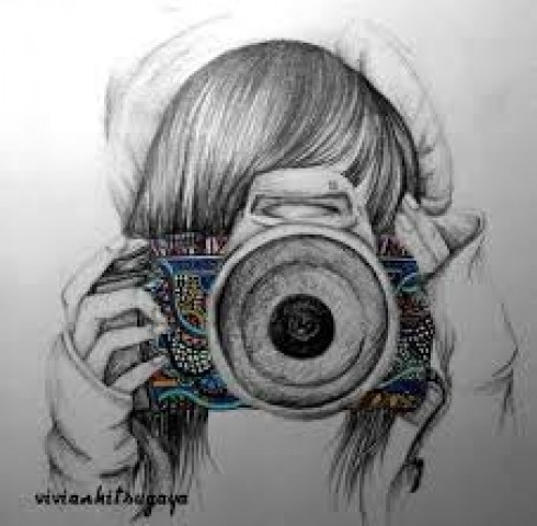 Girl with camera - Sloopy Cas
