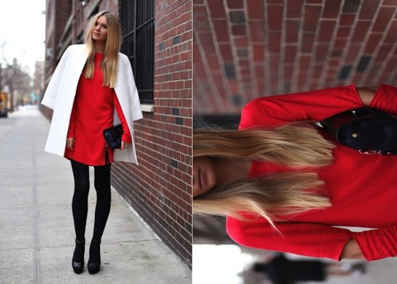 RED  - LOOKBOOK