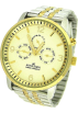 AK Anne Klein Watches -  AK Anne Klein Multifunction Champagne Dial Women's watch #10/9377CHTT