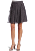 AK Anne Klein Skirts -  AK Anne Klein Women's Clipped Jacquard Skirt Ash/Silver