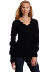 AK Anne Klein Pullovers -  AK Anne Klein Women's Long Sleeve V-Neck Pullover Sweater Black