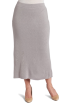 AK Anne Klein Skirts -  AK Anne Klein Women's Plus Size Long Knit Skirt Silver