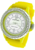 AK Anne Klein Watches -  AK Anne Klein Yellow Silicone Strap Ladies Watch #109439MPYL