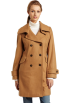 AK Anne Klein Jacket - coats -  Ak Anne Klein Women's Double-breasted Walker Camel