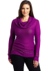 AK Anne Klein Pullovers -  Ak Anne Klein Women's Plus Size Longsleeve Cowl Neck Pullover Sweater Raisin