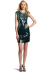 BCBGMAXAZRIA Dresses -  BCBGMAXAZRIA Women's Pat Dress Jewel Green