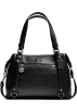 COACH Bag -  COACH Black LEATHER ALEXANDRA 17566