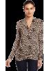 Karen Kane Long sleeves t-shirts -  Karen Kane Women's Shirred Sleeve Wrap