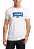 Levi's T-shirts -  Levi's Men's Waterless Denim Short Sleeve Tee White