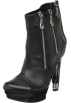 The Highest Heel Boots -  The Highest Heel Women's Handgun Ankle Boot