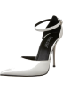 The Highest Heel Shoes -  The Highest Heel Women's Slick Ankle-Strap Pump