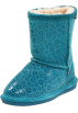 Bearpaw Boots -  Bearpaw Cimi Shearling Boot (Little Kid/Big Kid) Teal