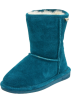 "Bearpaw Boots -  Bearpaw Emma 6.5"" Shearling Boot (Little Kid/Big Kid) Teal"