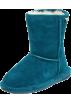 "Bearpaw Boots -  Bearpaw Emma 6.5"" Shearling Boot (Little Kid/Big Kid) Teal"