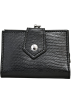 Buxton Wallets -  Black Buxton Sonoma Lizard Mini Framed Wallet