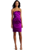 Donna Morgan Dresses -  Donna Morgan Women's Asymetrical Strapless Dress Hollyhock