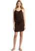 Amazon.com Vestidos -  Echo Design Women's Braided Halter Dress Brown