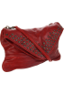 Frye Bag -  FRYE Brooke Envelope Clutch Burnt Red