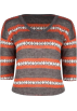 Full Tilt Pullovers -  FULL TILT Fairisle Womens Sweater Multi