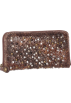 Frye Wallets -  Frye Deborah Glazed Vintage DB970 Wallet Chocolate