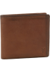 Frye Wallets -  Frye James Tumbled Full Grain Wallet Taupe