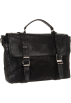 Frye Hand bag -  Frye Logan Flap Brief Case Black