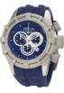 Invicta Relojes -  Invicta Men's 1224 Bolt Reserve Chronograph Blue Dial Blue Silicone Watch