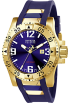 Invicta Relojes -  Invicta Men's 6254 Reserve Collection Excursion Blue Polyurethane Watch