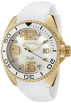 Invicta Watches -  Invicta Women's 0497 Angel Collection Diamond Accented White Polyurethane Watch