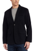 Kenneth Cole Suits -  Kenneth Cole New York Mens Pinstripe Cotton Blazer Black Combo