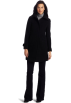 Kenneth Cole Reaction Jacket - coats -  Kenneth Cole Reaction Women's Single Breasted Zip Front Coat Black