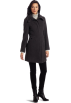 Kenneth Cole Reaction Jacket - coats -  Kenneth Cole Reaction Women's Single Breasted Zip Front Coat Iron